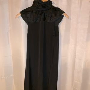 NWT auth ALICE +OLIVIA size SMALL black silk dress